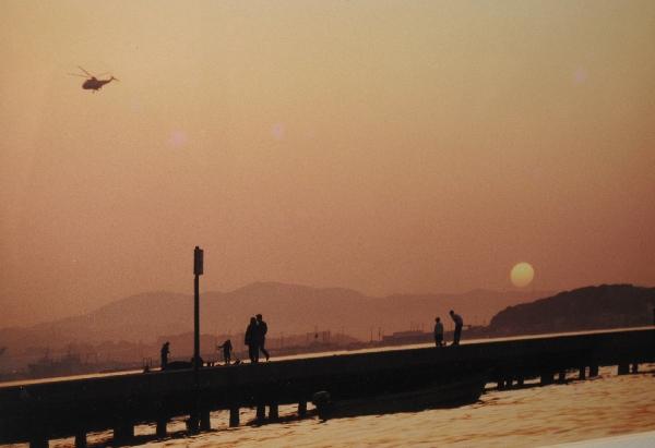 23年前の館山桟橋