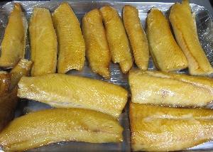 銀鱈の燻製