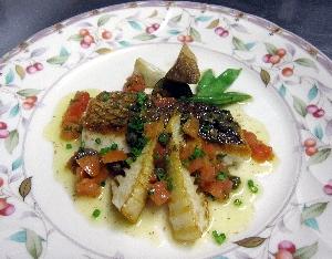 真鯛の料理