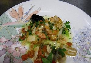 Aコース魚料理