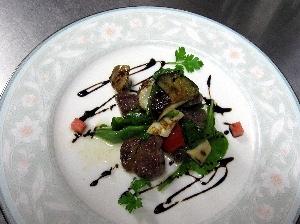 レストラン大澤・塩豚バルサミコ
