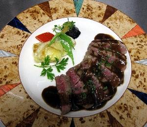 牛フィレ肉の料理