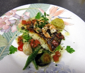 レストラン大澤・魚料理