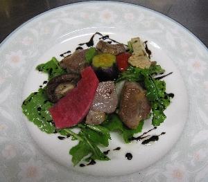 館山フレンチ・塩豚料理