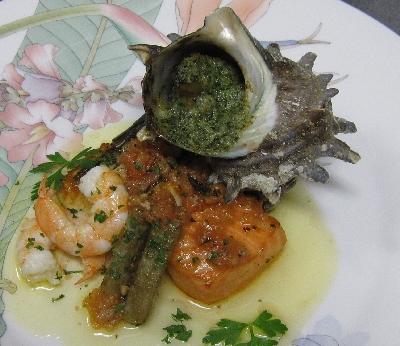 館山レストラン・魚料理