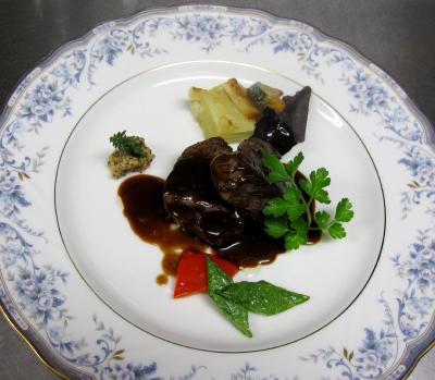 レストラン大澤 牛フィレステーキ